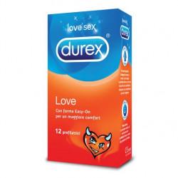 DUREX LOVE Profilattici confezione da 12 Pezzi
