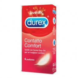 DUREX CONTATTO COMFORT EASYON 6 pezzi