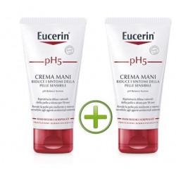 Eucerin pH5 Crema Mani Rigenerante BIPACCO