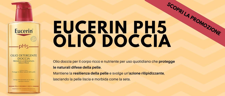 Sconto Eucerin Olio Doccia ph5